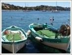 Fishing boats in Villefranche