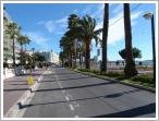 No traffic on the Croisette in Canne