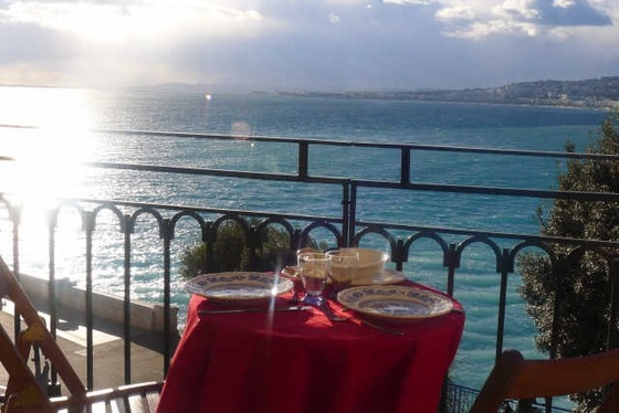 Nice Seafront Panoramic View Apartment in Nice Promenade, Nice, French Riviera