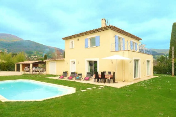 St. Paul de Vence 3-Bed Family Villa in St Paul de Vence, Nice, French Riviera
