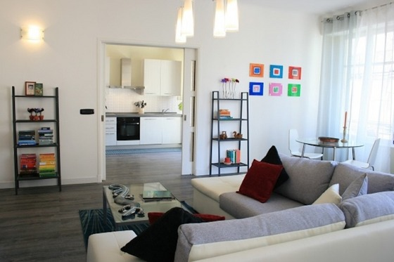 Stylish 2-Bed City Centre Apartment in Nice, French Riviera