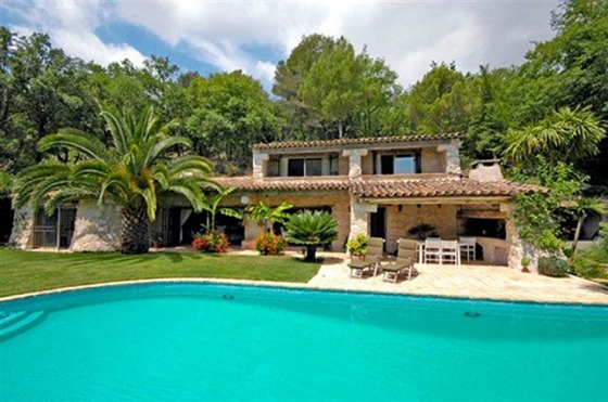 Villa Saint Paul in St Paul de Vence, Nice, French Riviera